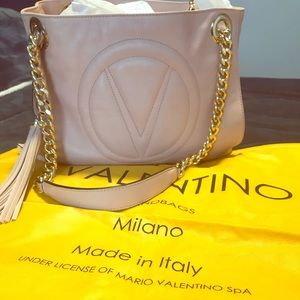 VALENTINO BAG: BLUSH & GOLD
